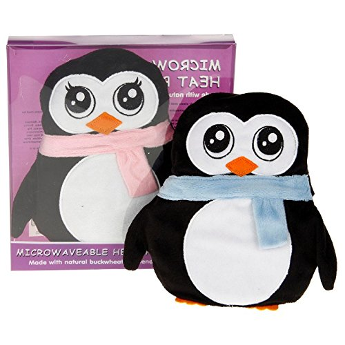 wheaty-warmers-microwaveable-microwave-heat-pack-penguin-with-blue-scarf