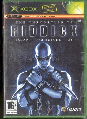 The Chronicles of Riddick Escape from butcher bay - Xbox - PAL (Riddick Butcher Bay)