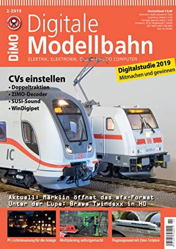 Digitale Modellbahn - CVs einstellen - Elektrik, Elektronik, Digitales und Computer - 2-2019