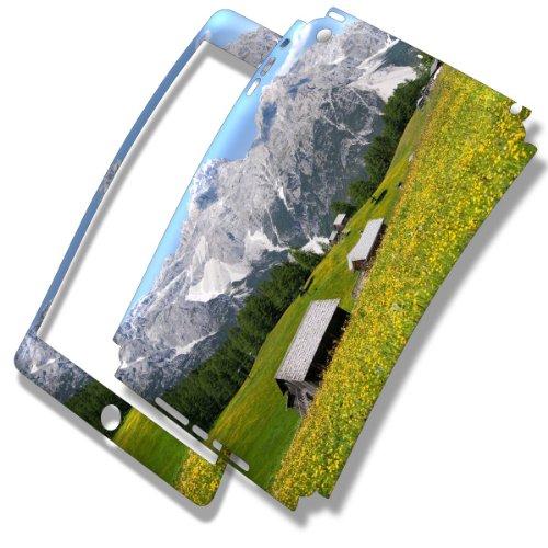montagne-skin-autoadesivo-sticker-adesivi-pelle-cover-decal-set-con-disegno-strutturato-con-apple-ip