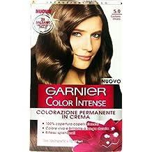 6x Color Intense Champú Tinte Castaño Claro 5.0
