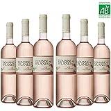 Vin Rosé - Domaine des Planes - cuvée Flamant Rose - 2016 - AOP Côtes de Provence - Vin bio - 6x75cl - 12,85%