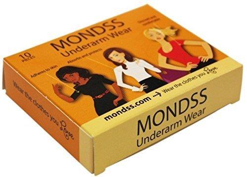MONDSS aisselles Wear - sueur correctifs absorbants (Adhérer/coller à la peau) pour les hommes/femmes. €2 Livraison dans le monde.