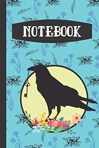 Floral Style Writing Gift - Lined NOTEBOOK, 130 pages, 6
