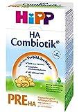 Hipp PRE HA hypoallergenic first-milk, Pack of 4 (4 x 500g)