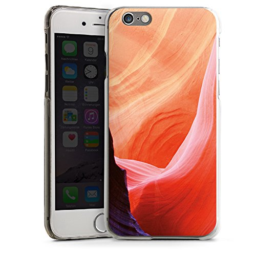 Apple iPhone 6 Housse Étui Silicone Coque Protection Nature Pierre Amérique CasDur transparent