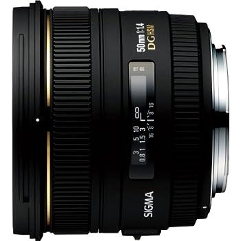 Sigma 50mm F1,4 EX DG HSM Objektiv (77mm Filtergewinde) für Canon