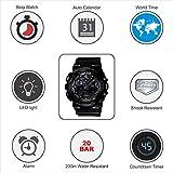 Casio G-Shock World time Analog-Digital Black Dial Men's Watch - GA-100CF-1ADR (G520)