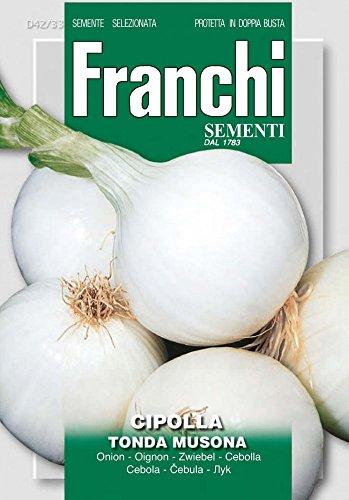 Franchi Sementi DBO42-33 Zwiebel Tonda Musona (Zwiebelsamen)