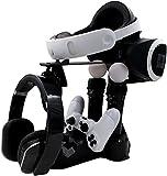 PlayStation VR ladestation ständer, Cusfull PSVR Showcase PS4 VR Ladegerät 2Move Controller Ladegeräte mit LED-Anzeige für PlayStation4 Controller und PS Move Motion Controller