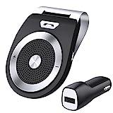 Vivavoce Bluetooth 4.1 da Auto con Controllo Vocale, Car Bluetooth per Speaker, Kit - Best Reviews Guide