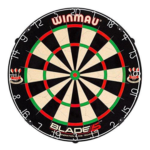 Winmau, bersaglio per freccette 'Blade 5'incluso1 set di alette Dartflys roleo.
