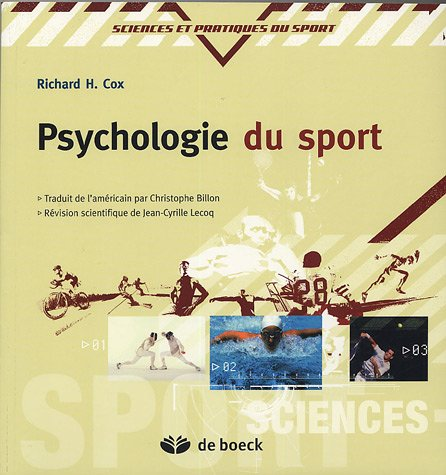 Psychologie du sport par Richard-H Cox