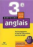 Anglais 3e (Chouette)