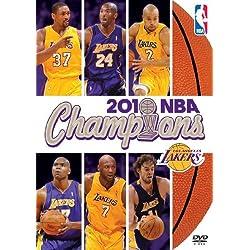 NBA Champions 2009-2010: LA Lakers [DVD]