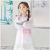 Guyuan Transparent girl raincoat princess primary school waterproof child raincoat boy kindergarten breathable child poncho