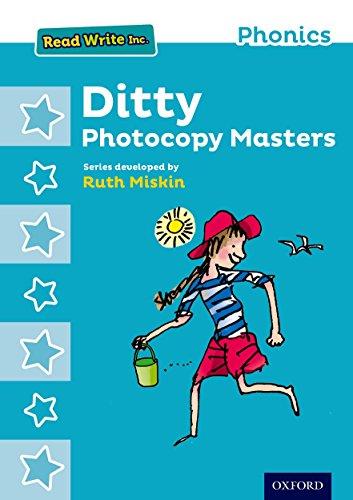 Read Write Inc. Phonics: Ditty Photocopy Masters por Ruth Miskin
