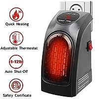 Estufa Eléctrica Calefactor Mini Portátil Handy Heater 350W Bajo Consumo Temperatura Regulable Baño Casa Oficina Enchufe