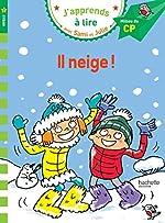 Sami et Julie CP Niveau 2 Il neige de Emmanuelle Massonaud
