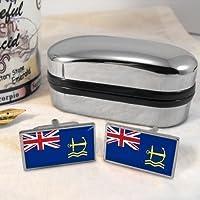 Royal Maritime ausiliari-Gemelli, motivo bandiera Regno Unito, in confezione regalo