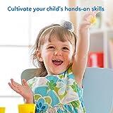 Springknete, Korostro Kinderknete Hüpfknete Flummimasse Kinder Mitgebsel für Kindergeburtstag Eigenschaften Kinderknete Formen Kinderhand Gemachtes Lernen Bestes Geschenk für Kinder von KOROSTRO