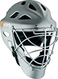 Grays G600 Helmet Casco Portero Hockey, Plateado, L