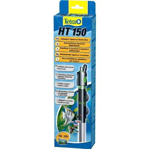 Tetra HT 150 W Reglerheizer, leistungsstarker Aquarienheizer zur Abdeckung unterschiedlicher Leistungsstufen mit Temperatureinstellknopf (150 Aquarium Heizer)