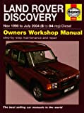 Land Rover Discovery Diesel Service and Repair Manual: 1998 to 2004 (Service & repair manuals)