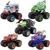 DISNEY PIXAR CARS TOON FIGUREN AUTO SET - Deluxe Monster Truck Mater / Hook Set (PVC, Plastic, Drehenden Räder))