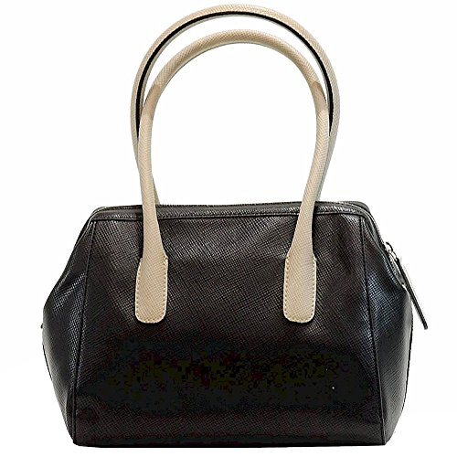 Guess - Borsa a tracolla donna Multicolore (Multi nero)