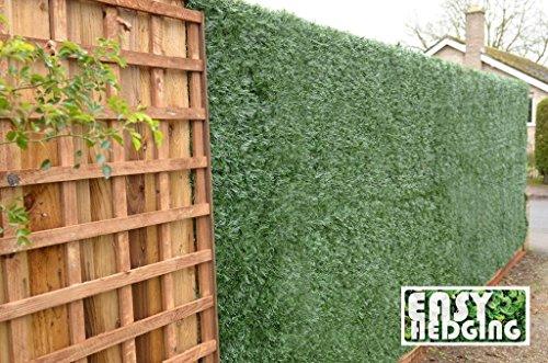 EasyHedging Künstliche Nadelbaumhecke/Sichtschutz, Rolle 3 x 1 m, verschönert unansehnliche Bereiche und bietet schnellen Sichtschutz