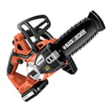 Black & Decker 8014211024849 Elettrosega B+D 18V Litio Gkc1820L20 Cm.20, Multicolore