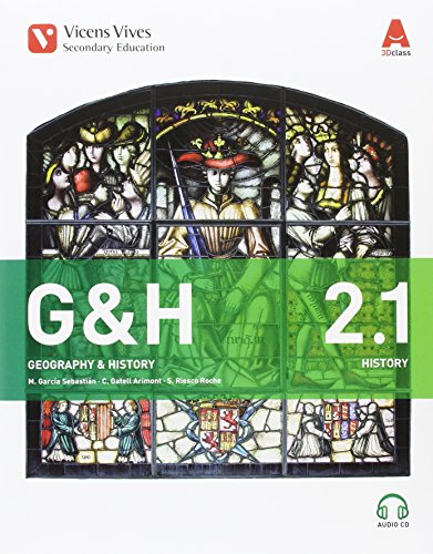 G&H 2 (2.1-2.2)+2CD'S (GEOGRAPHY/HISTORY) 3D CLASS: 000004-9788468238159