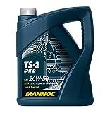 MANNOL TS-2 SHPD 20W-50 API CH-4/CG-4/CF-4/SL Motorenöl, 5 Liter