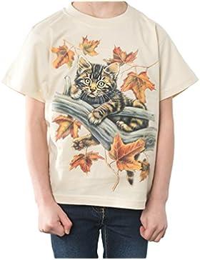 Flowear - Camiseta de manga corta - Cuello redondo - para niña