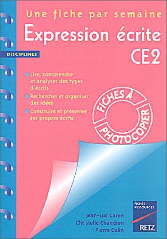 Expression écrite, CE2