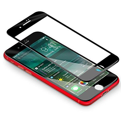 iPhone 7 Protector de Pantalla Coolreall 3D negro Completo Cobertura T