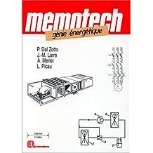 mémotech génie énergétique pdf