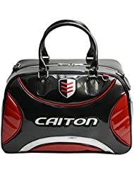 Sharplace Bolsa de Ropa de Cuero PU Impermeable de Golf Duffle Bag Accesorio de Golf - Rojo