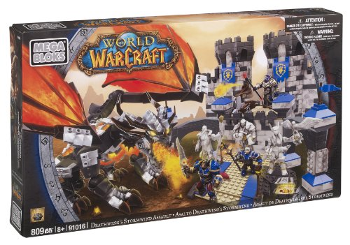 Mega Bloks 91016 World of Warcraft Castillo Stormwind