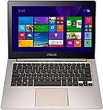 ASUS Zenbook UX303LB-R4100H 33,8 cm (13,3 Zoll) Laptop (Intel Core i7 5500U, 2,4GHz, 12GB RAM, 256GB SSD, Nvidia Geforce 940M, Win 8.1) braun