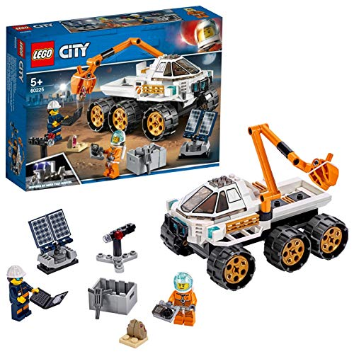 LEGO 60225 City Rover Testing Drive, Space Adventure Building Set, Mars Expedition Vehicle Toy inspired by NASA with Astronaut Minifigure Best Price and Cheapest