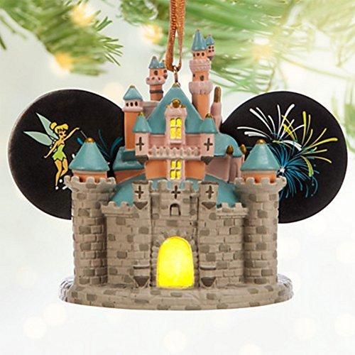 Sleeping Beauty Castle Light-Up Ear Hat Ornament - Disneyland by Disney