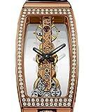 Corum 113.102.85-00010000-Uhr für Frauen, Lederband schwarz