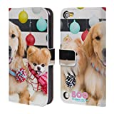 Official Boo-The World's Cutest Dog Scarf Buddies Friends Leather Book Wallet Case Cover