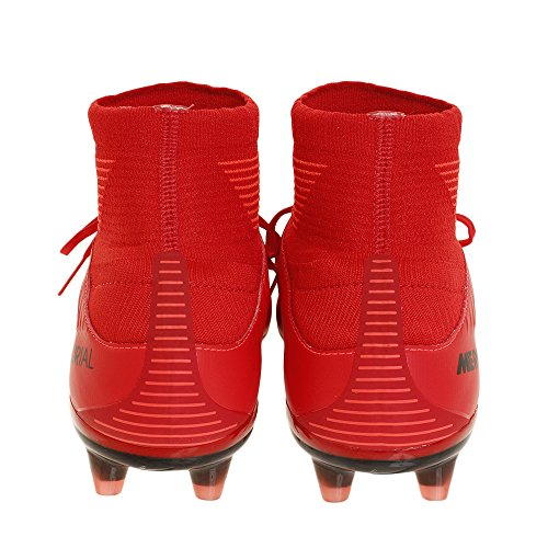 Nike Boot f tbol Mercurial Veloce III DF AG-PR Rouge