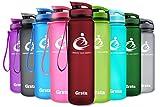 Die besten Eco Friendly Trinkflaschen - Grsta Sport Trinkflasche 28oz-800ml - Wasserflasche Auslaufsicher, Eco Bewertungen