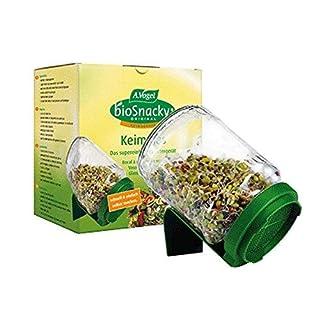 A Vogel Biosnacky Germinator Seed Jar with Lid (Pack of 2 Jars)