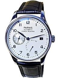 PARNIS PARNIS 2016 4250367313619 - Reloj para hombres, correa de cuero color negro