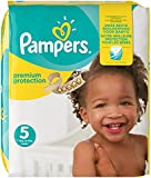 Pampers Premium Protection Nappies Monthly Saving Pack - Size 5, Pack of 136
